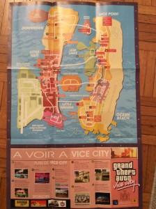 Carte de GTA Vice City